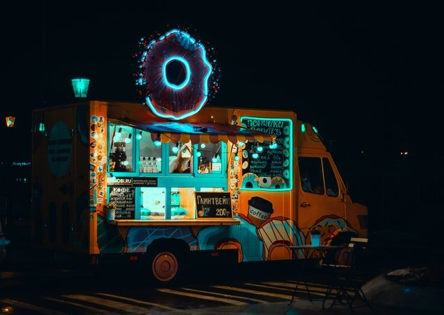 Customized Truck for food truck business